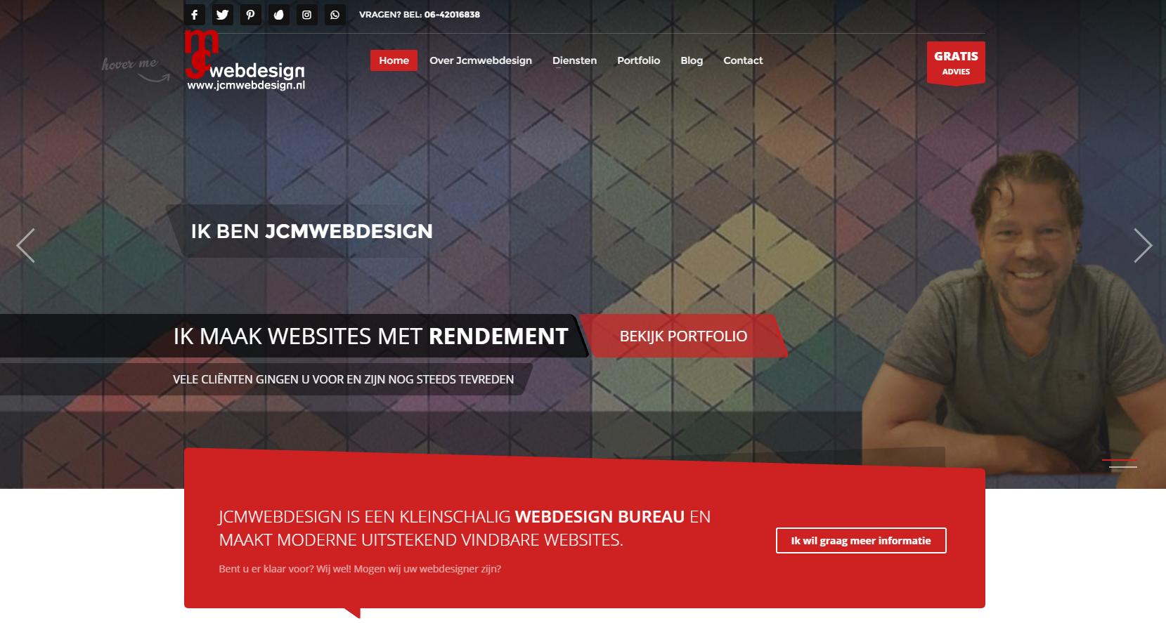 Jcmwebdesign Webdesigner Hoofddorp