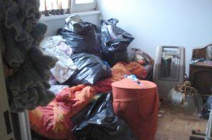 Kamer leeg ruimen voor