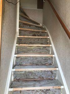 trapbeklediing verwijderen